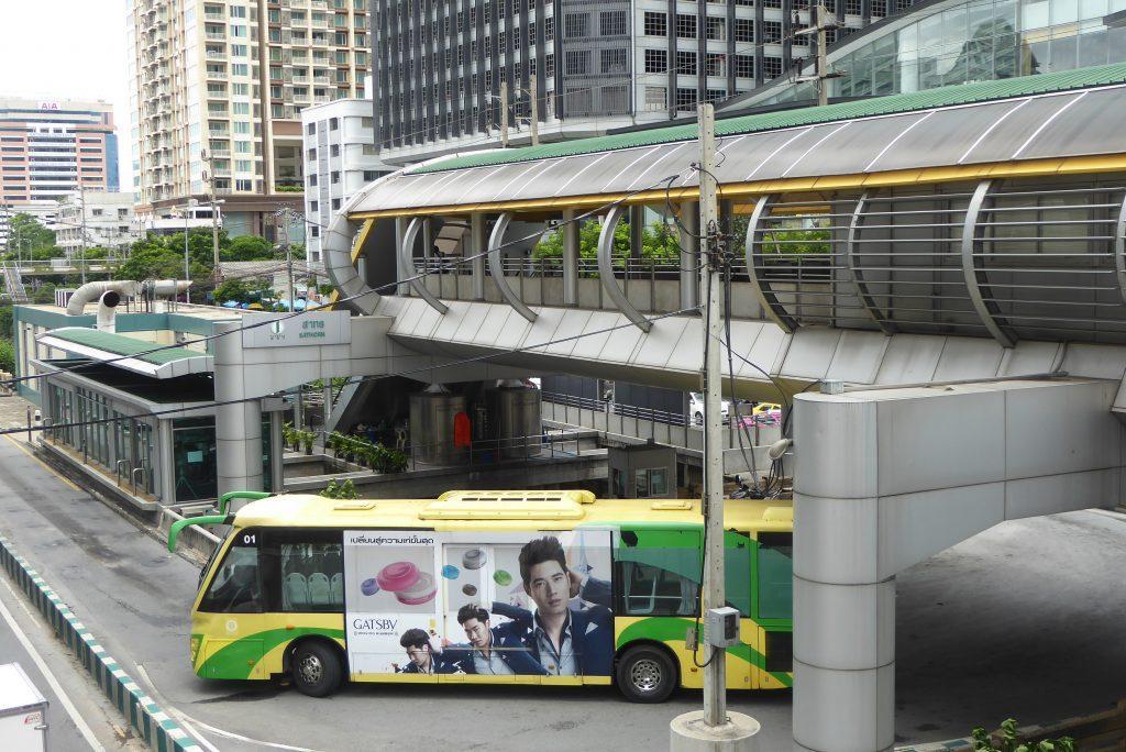 BRT Bus in Bangkok