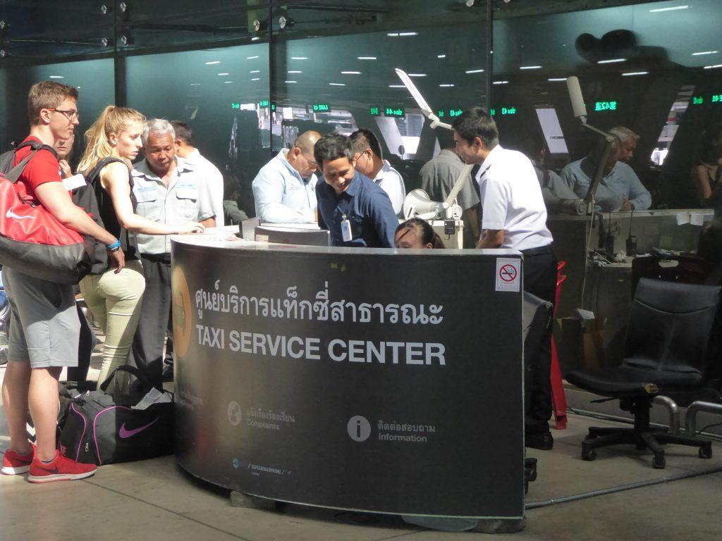 Taxi 4 1024x768 - Suvarnabhumi Airport