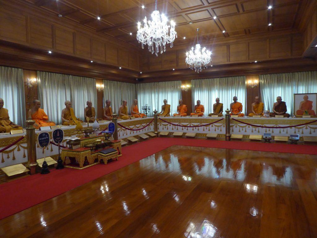 Wat Deveraj Temple in Bangkok, Thailand