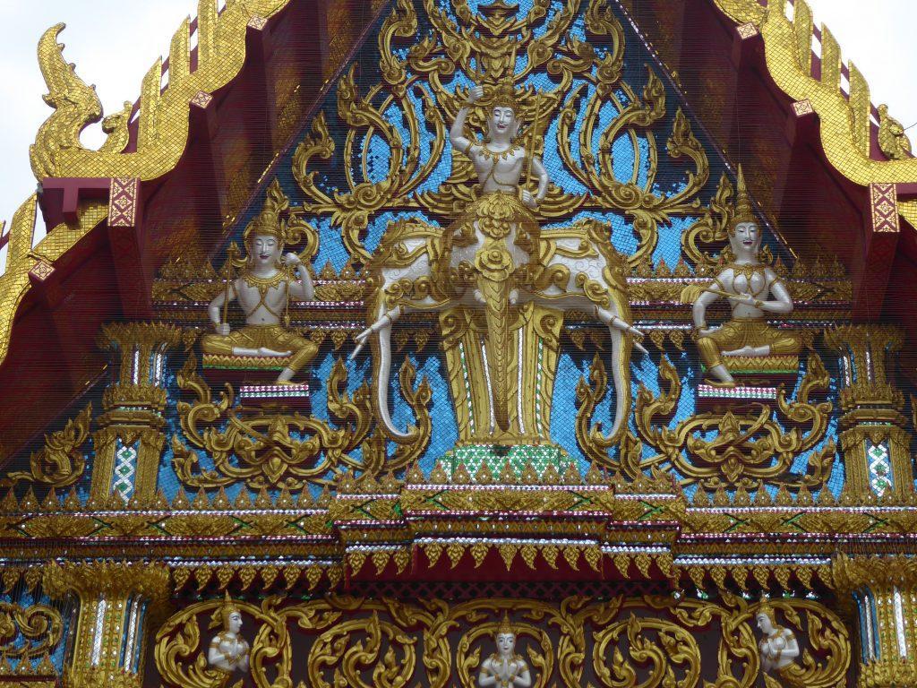 Wat Deveraj in Bangkok, Thailand.