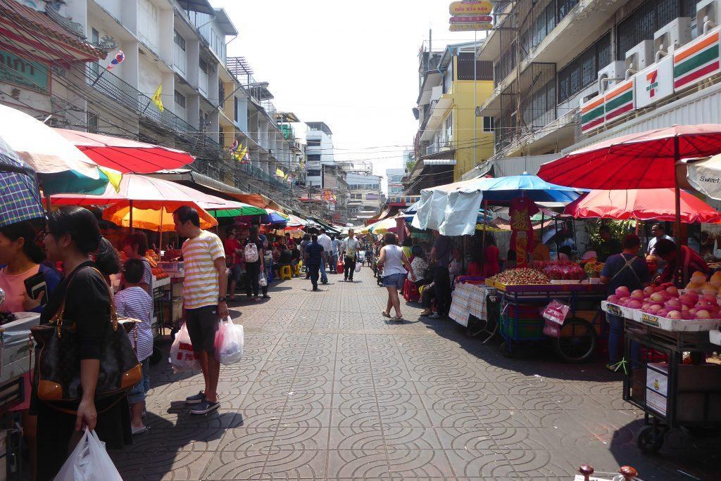Yaowarat Road in Chinatown, Bangkok