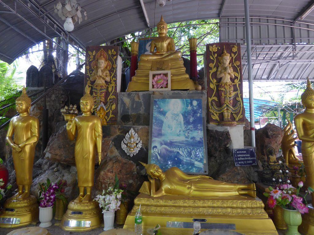 Temples in Bangkok, Thailand..