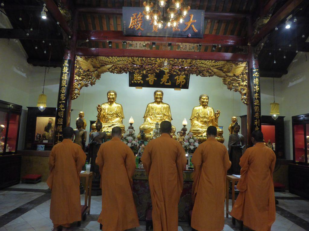 Wat Bampen Chine Prote is a Chinese Buddhist temple of the Mahayana sect in Bangkok's Chinatown formerly known as Wat Yong Hok Yi.