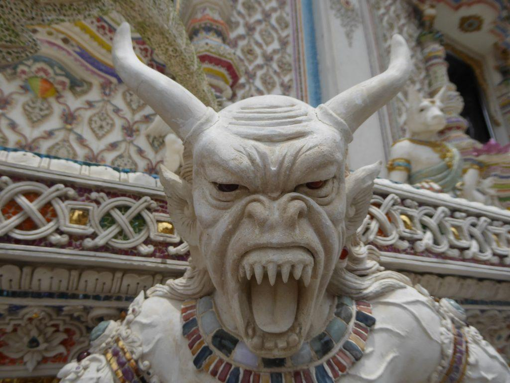 Wat Pariwas temple in Bangkok, Thailand.