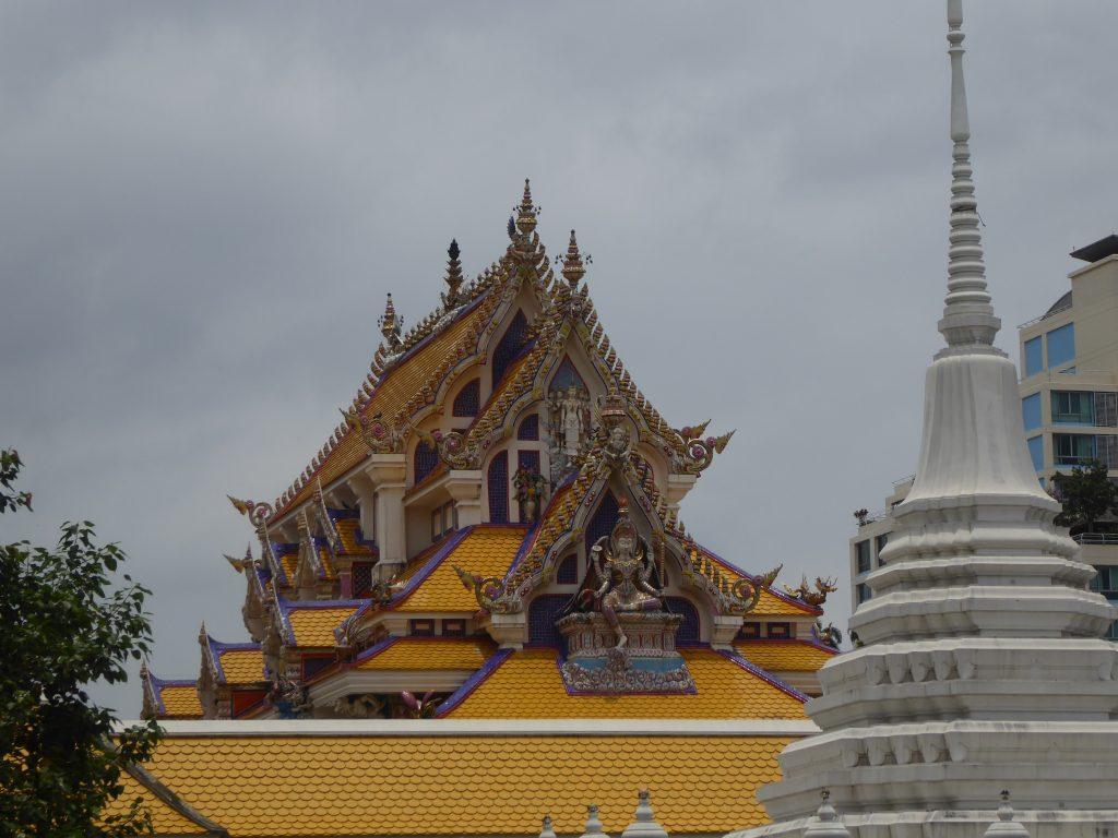 Wat Pariwat in Bangkok, Thailand.