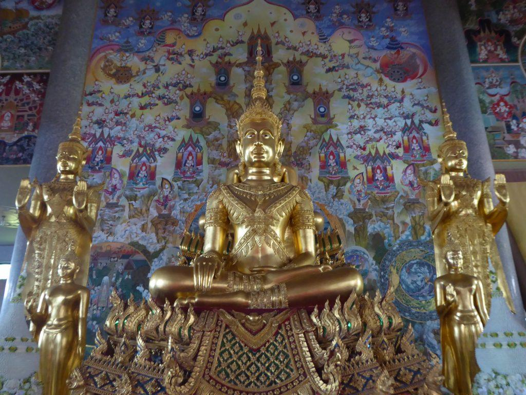 Wat Pariwat Temple in Bangkok, Thailand
