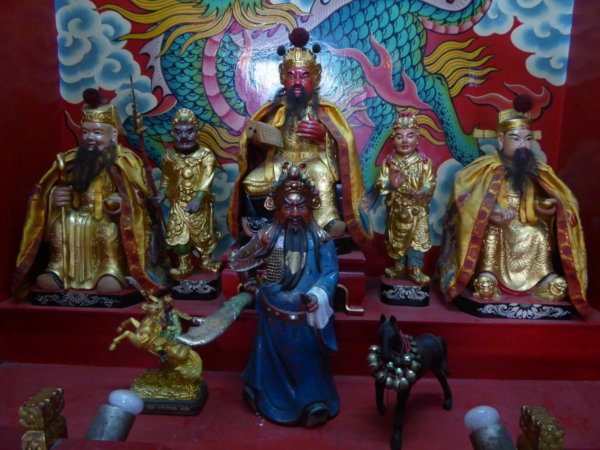Leng Buai La Shrine in Bangkok.