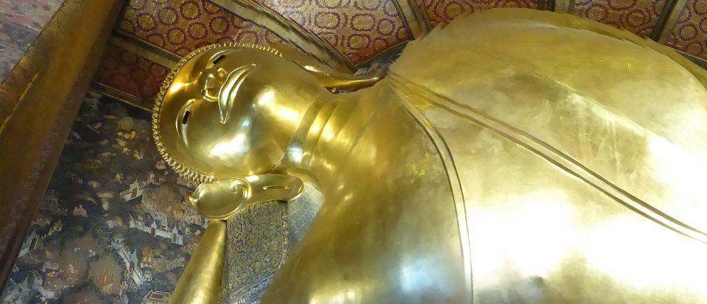 The Reclining Buddha at Wat Pho Bangkok