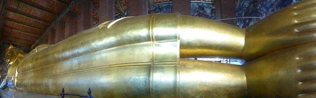 The Reclining Buddha Wat Pho Bangkok