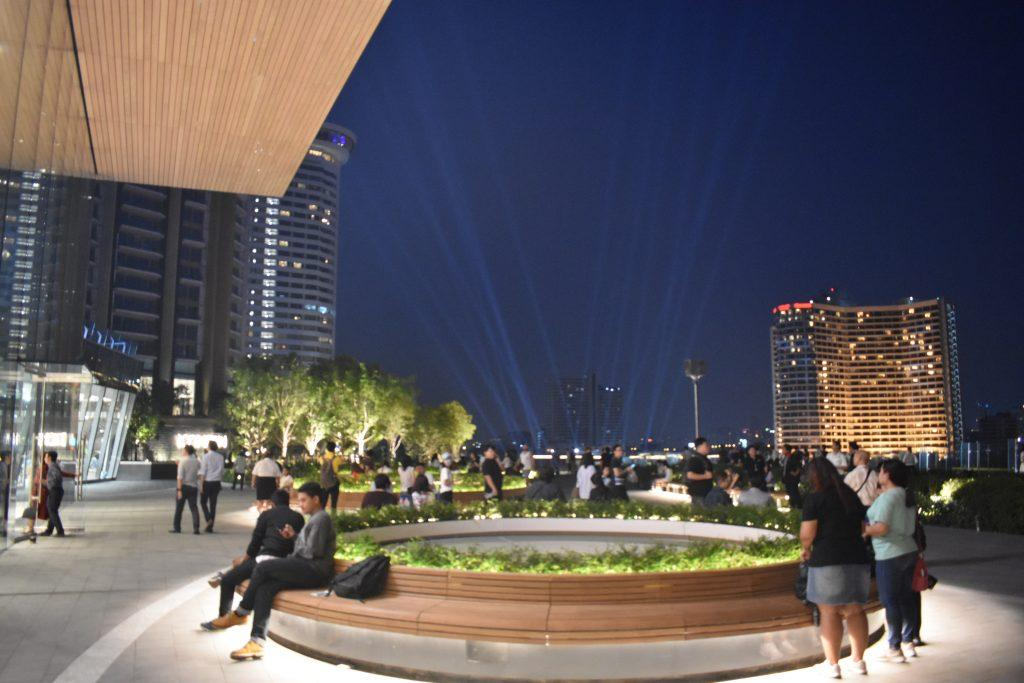 Garden Terrace at IconSiam in Bangkok