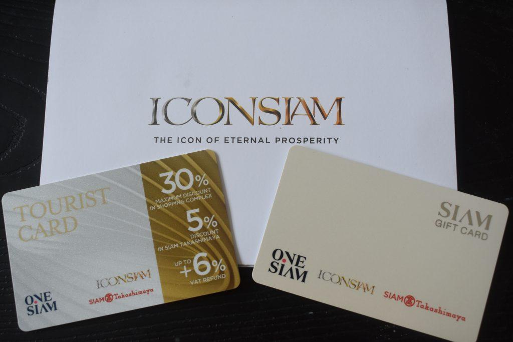 Tourist Discount Card at IconSiam Bangkok Thailand