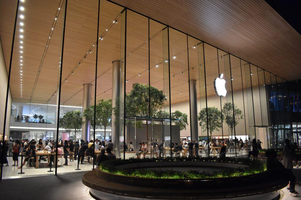 The Apple Store at Icon Siam Bangkok Thailand