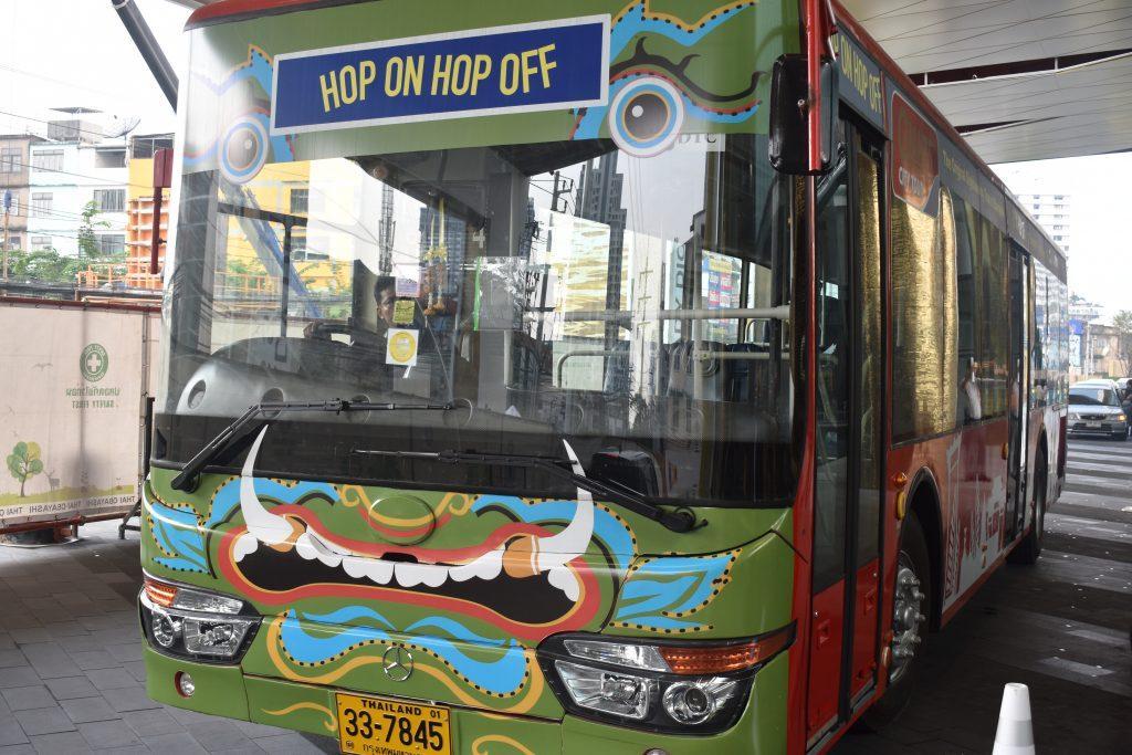 Giants Tour Bus Bangkok