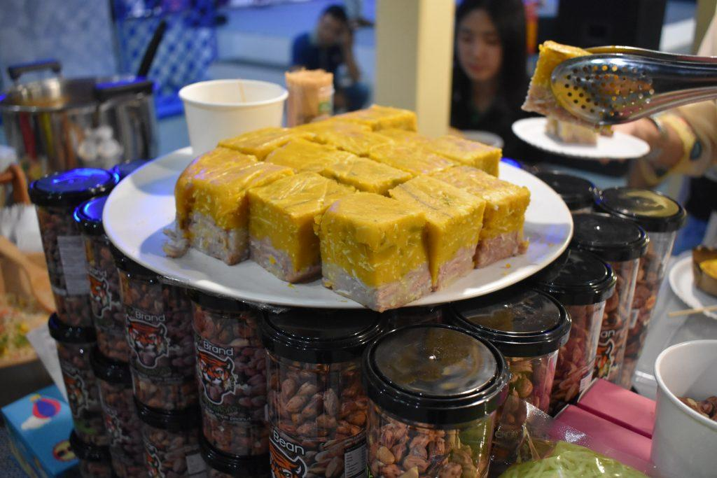 Street food at Sook Siam Icon Siam in Bangkok Thailand