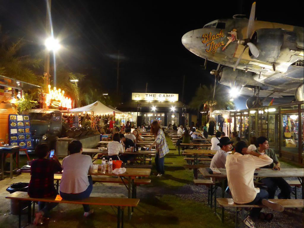 The Camp Vintage Flea Market in Bangkok Thailand