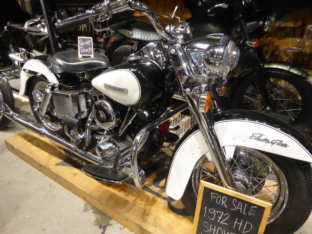 Harley Davidson The Camp Vintage Flea Market in Bangkok, Thailand