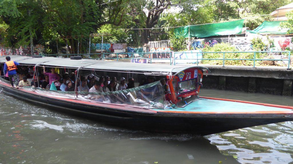 Saen Saep Express Boat Bangkok