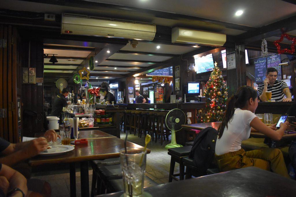 The Royal Oak Pub in Bangkok