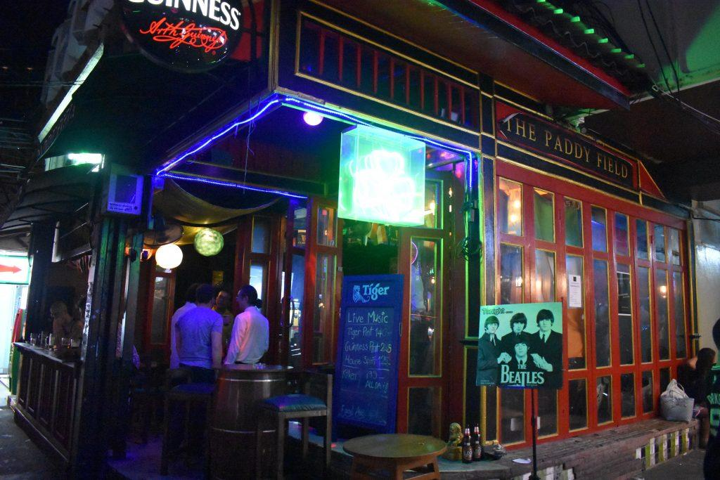 The Paddy Field Pub in Bangkok