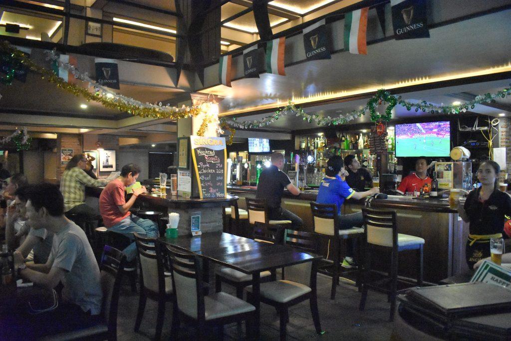 Herrity's pub in Bangkok