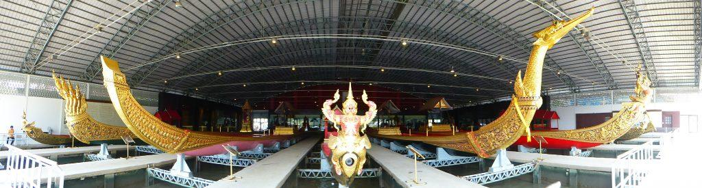 National Museum of the Royal Barges in Bangkok, Thailand