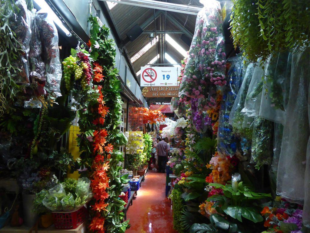 Chatuchak Weekend Market in Bangkok.