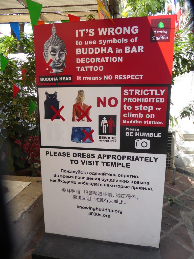 Cultural Etiquette in Thailand