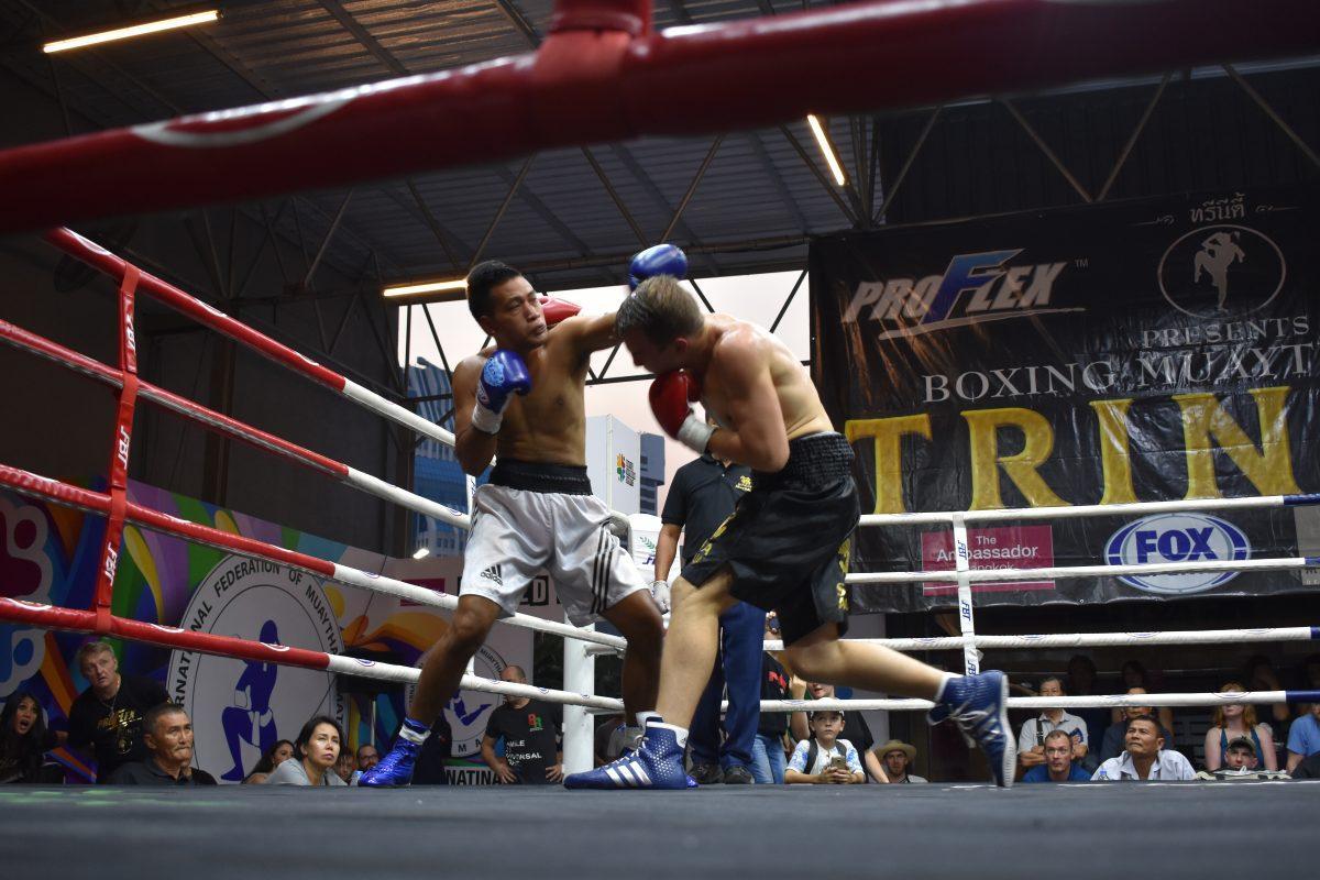 Boxing in Bangkok