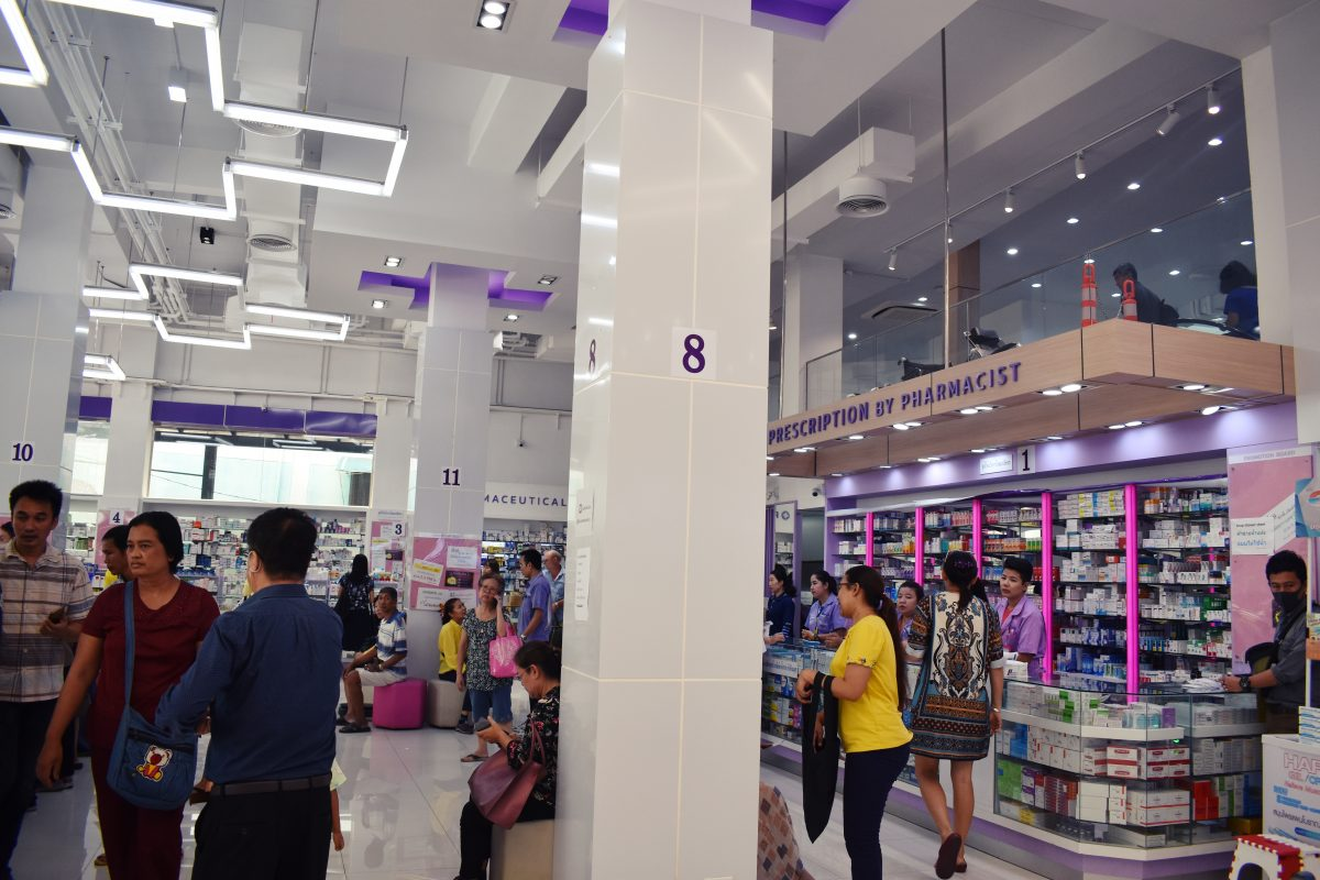 Buying Medical Supplies in Bangkok