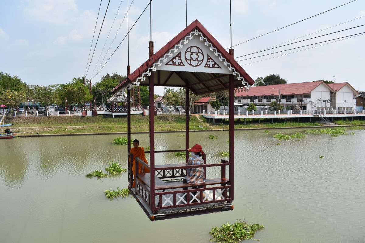 Wat Nivet Thammaprawat, Bang Pa-In