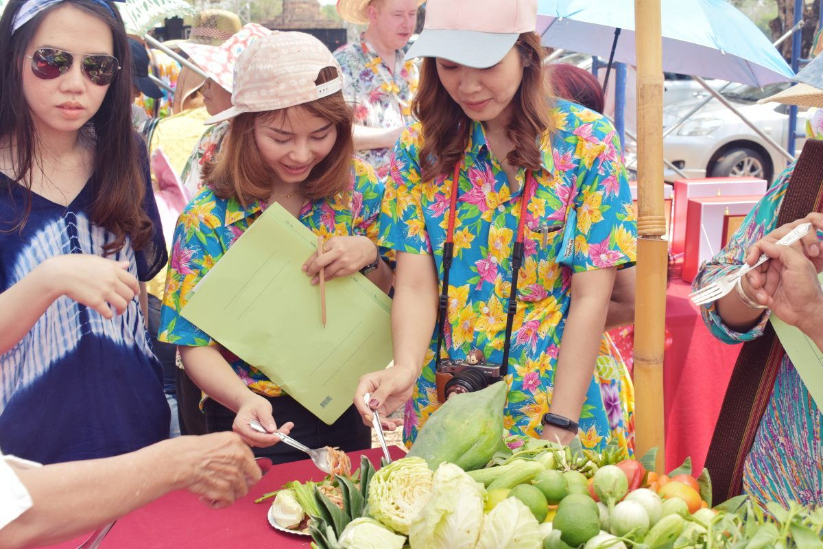 Thai food cooking contest