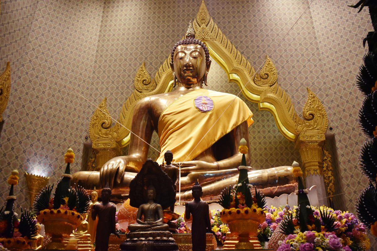 The Golden Buddha at Wat Traimit