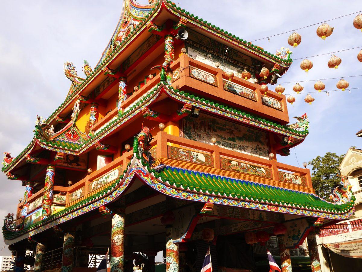Gong Wu Shrine in Bangkok