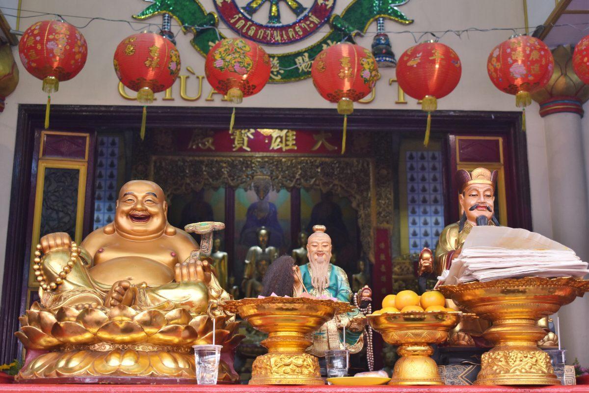 Chinese Shrine in Bangkok