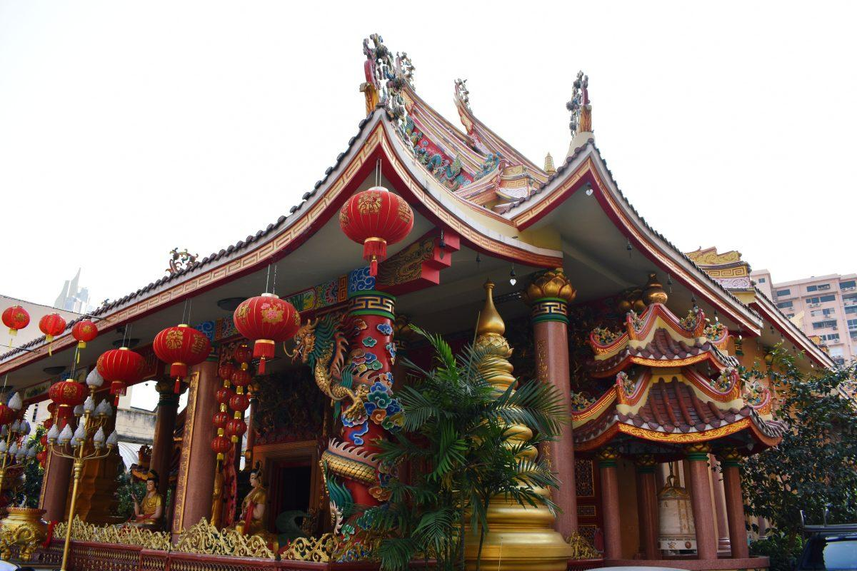 A Vietnamese Buddhist Temple in Bangkok