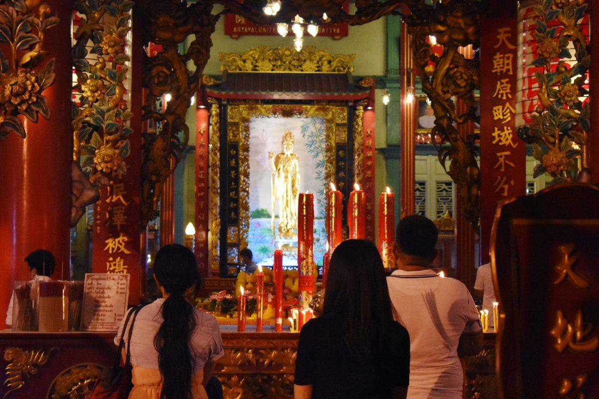 Kuan Yin Shrine in Bangkok