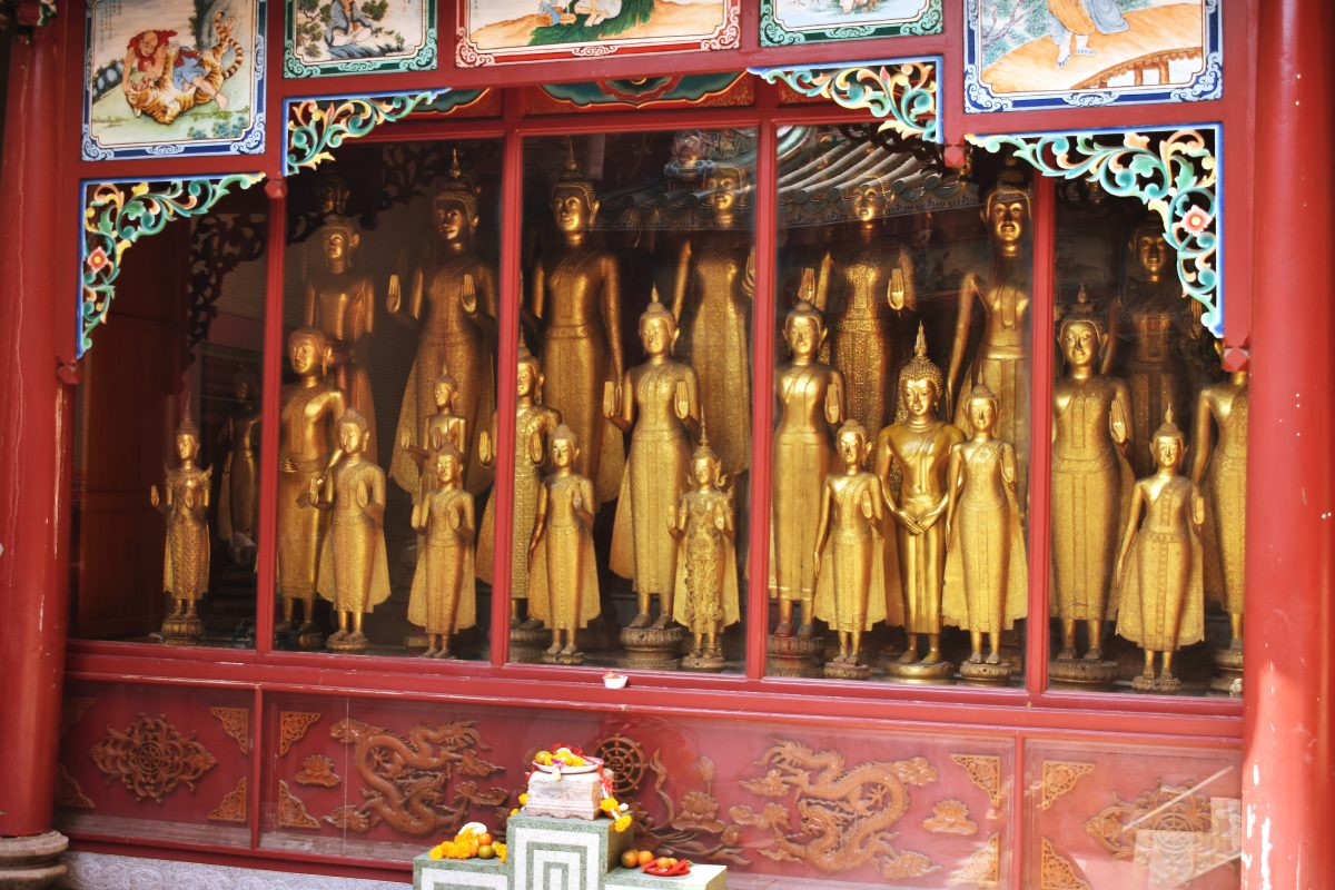 A Chinese Temple in Bangkok