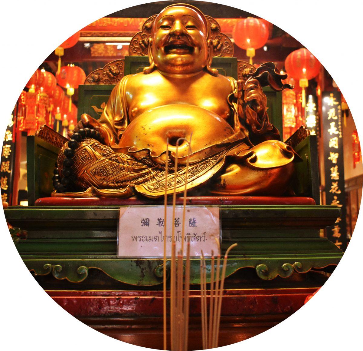 Wat Bampen Chine Prote in Bangkok