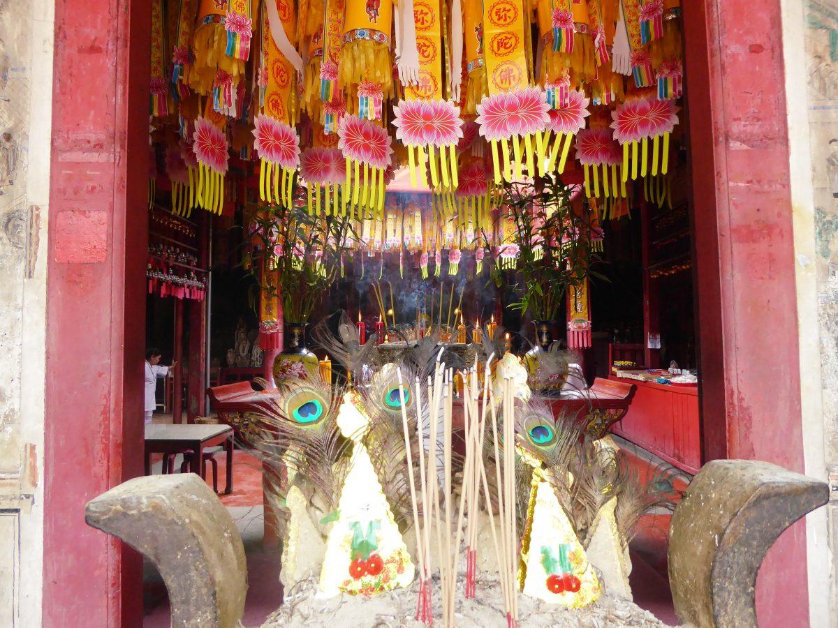 Kian Un Keng Shrine in Bangkok