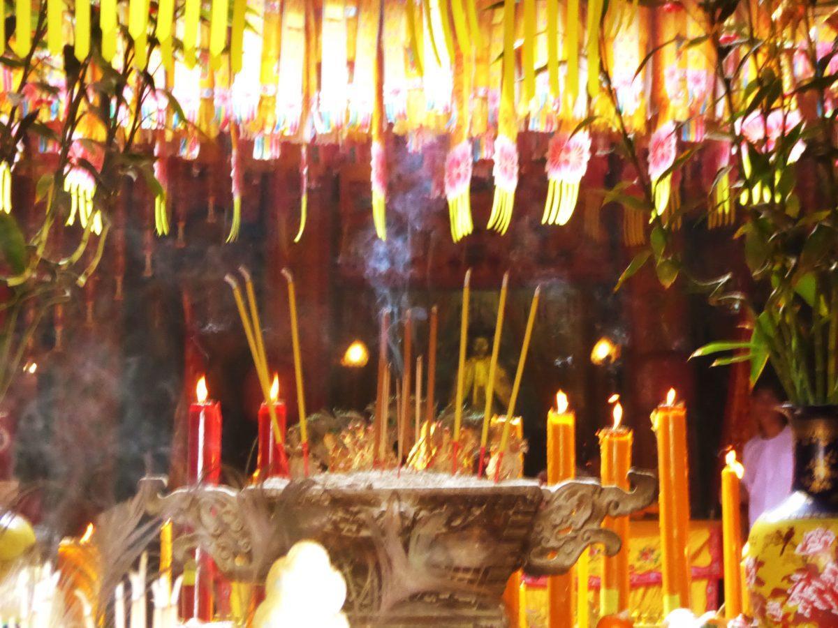 Kuan An Keng Shrine in Bangkok