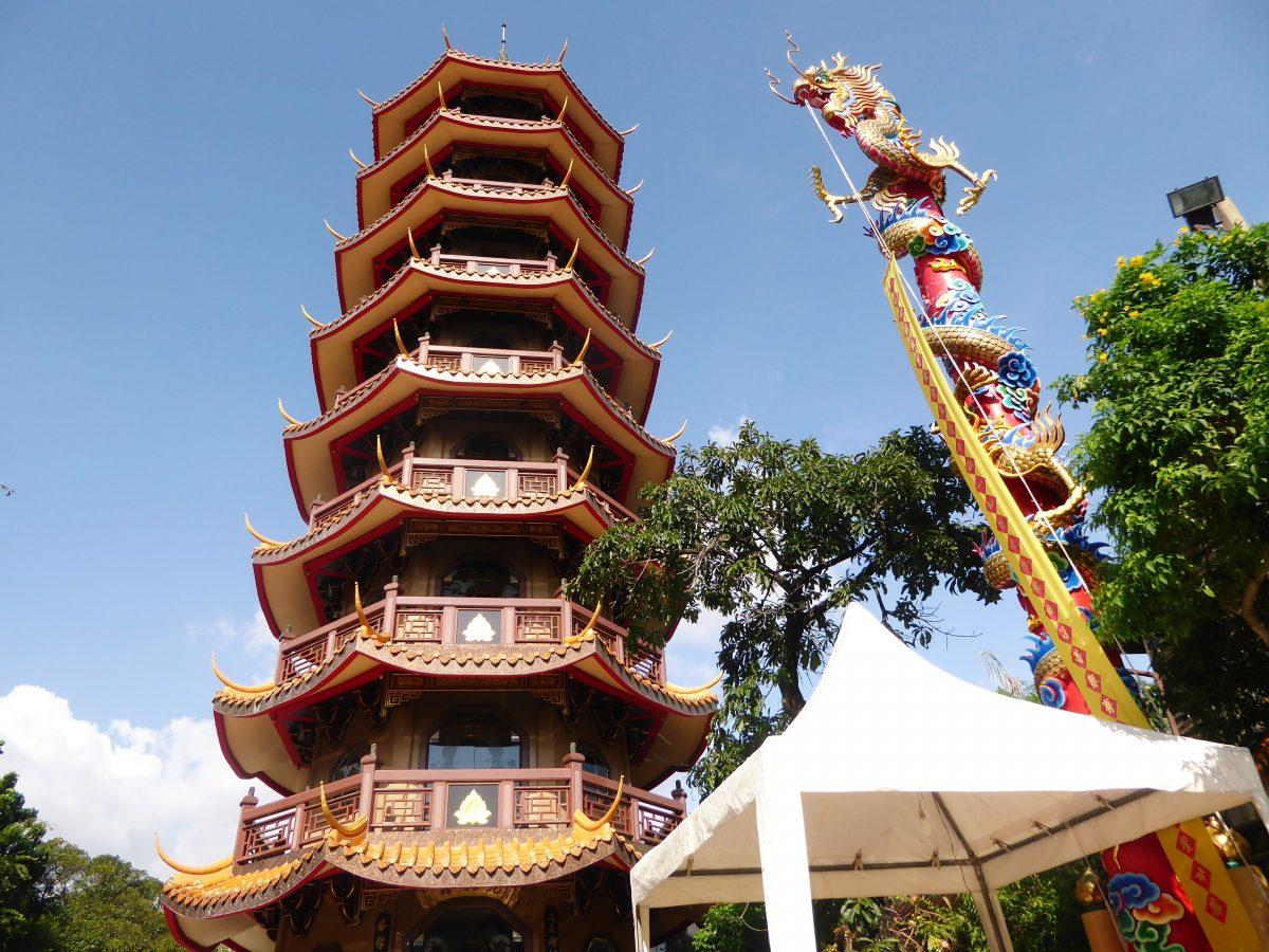 Chinese Pagoda in Bangkok