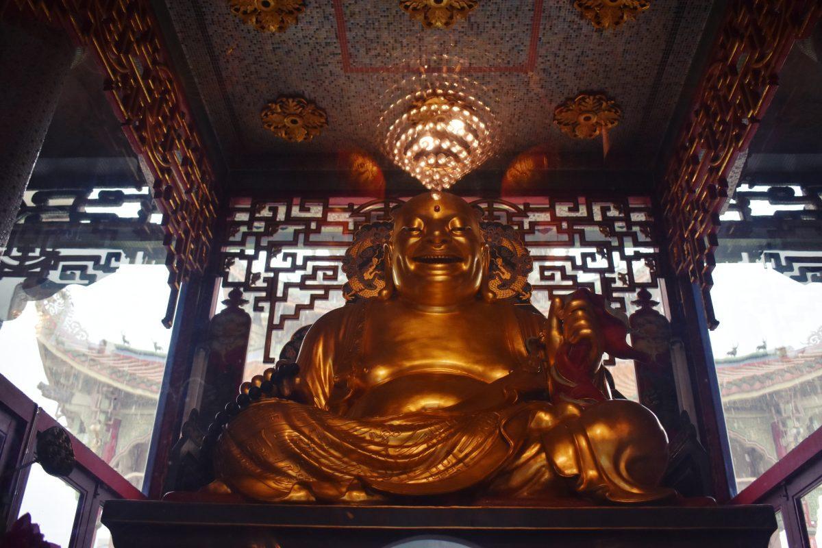 Wat Poe Man Temple in Bangkok