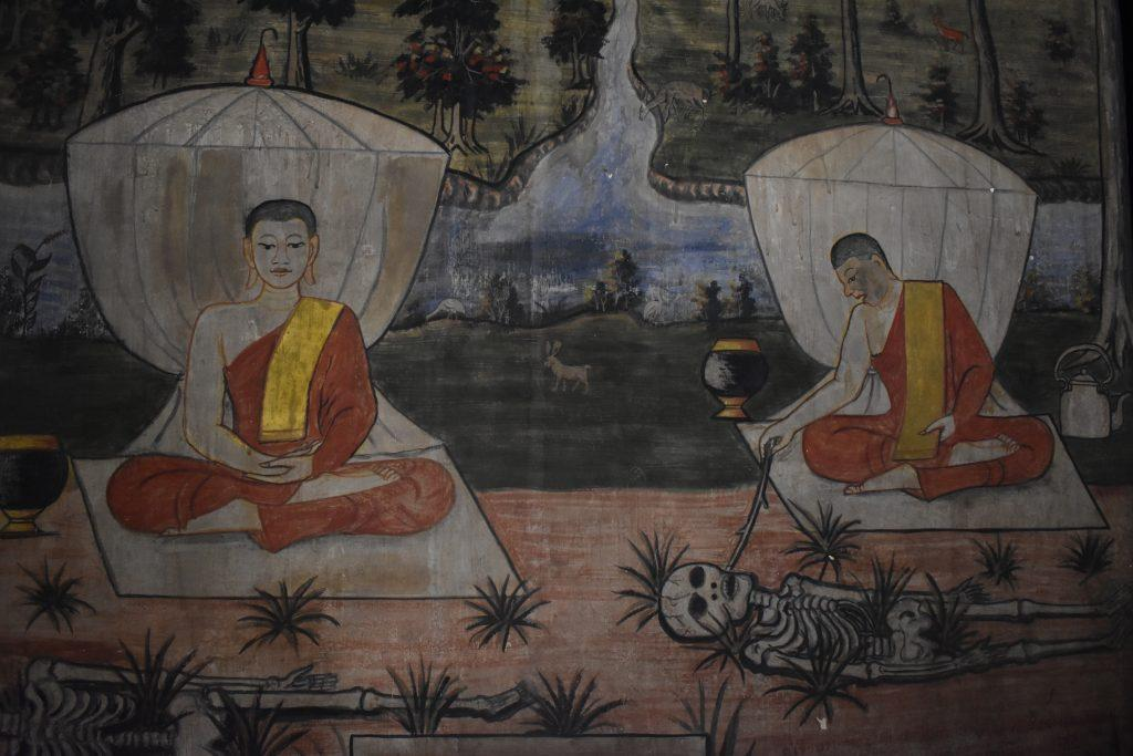 A Temple Mural in Thailand