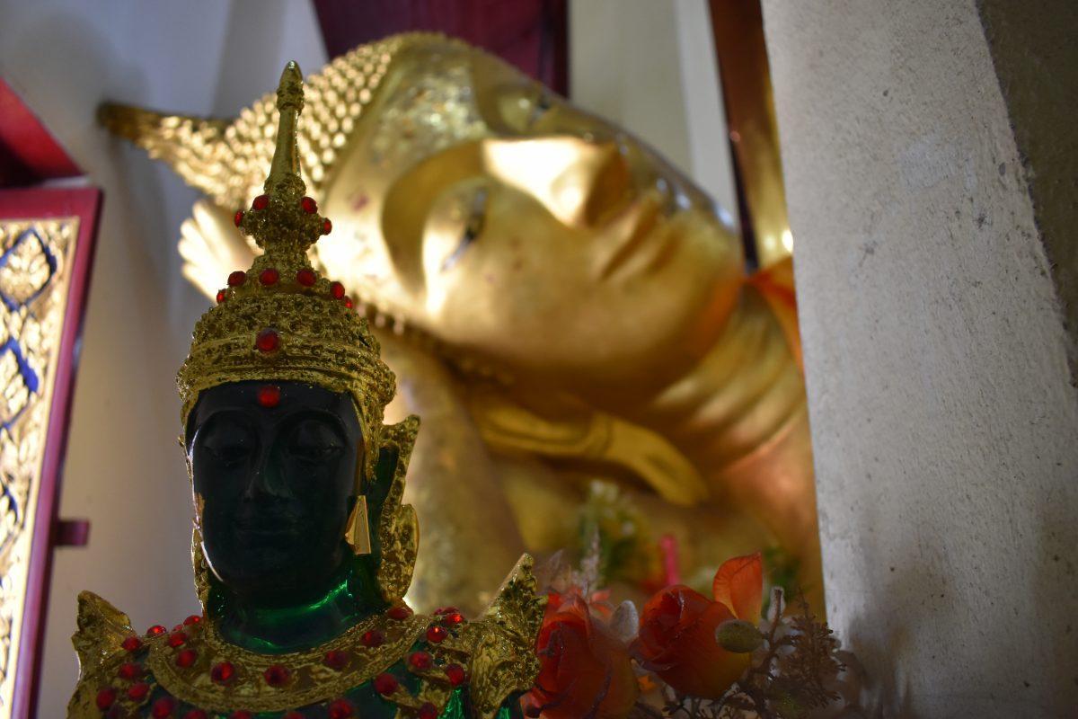 Buddha's in a Thai Temple