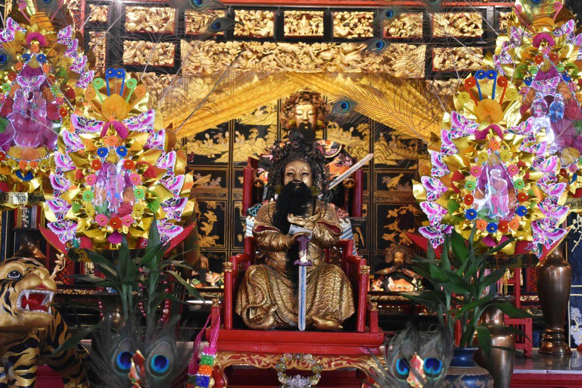 Lao Pun Tao Kong Shrine in Bangkok