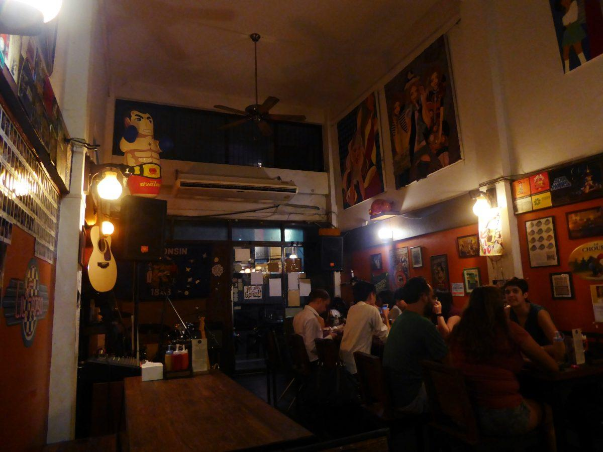 Fatty's Bar and Diner in Bangkok