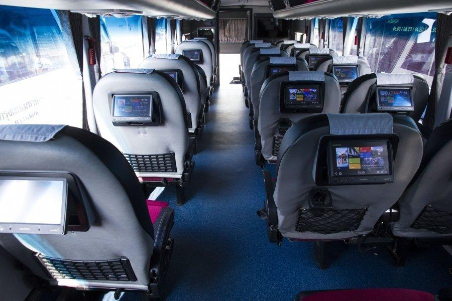 VIP Bus in Thailand