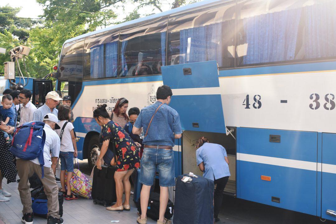 Ekkamai Bus Terminal in Bangkok