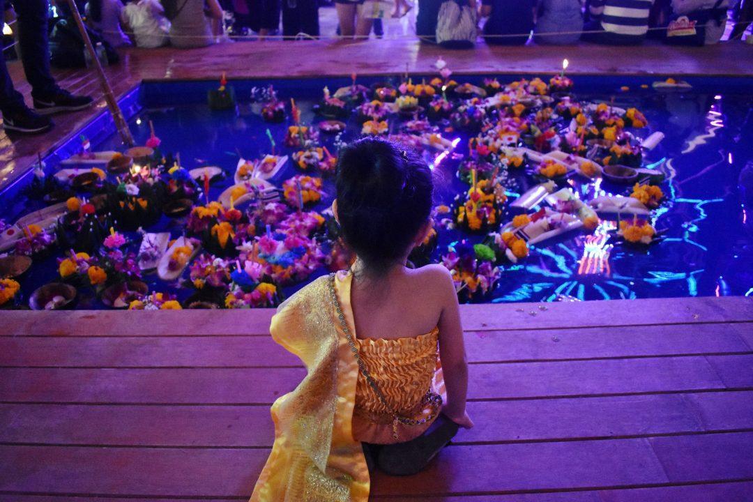 Loy Krathong in Bangkok