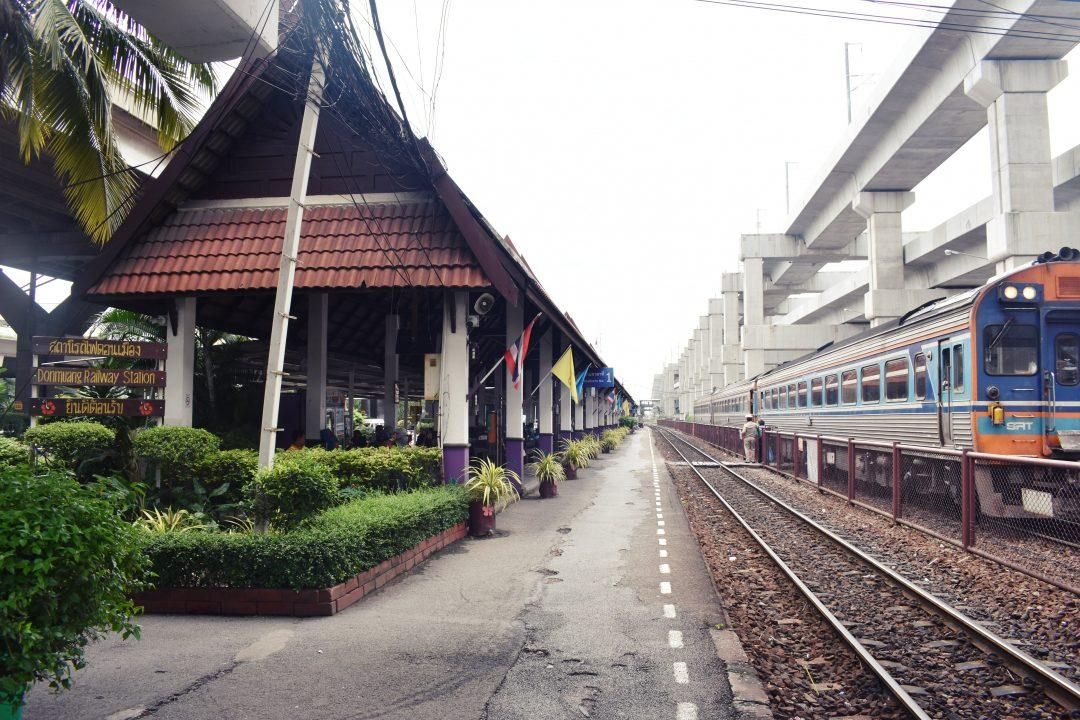 Donmuang Railway Station in Bangkok